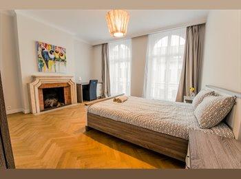Appartager BE - Residence Hotel deux pas du boulevard du Souverain , Auderghem-Oudergem - 500 € pm