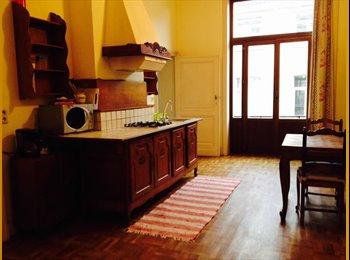 Appartager BE - Grand appartement lumineux entièrement meublé, Saint Gilles Sint Gillis - 1.000 € pm