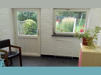 Appartager BE - 1 chambre libre dans une coloc de 200 m2 ac jardin , Nivelles - 300 € pm