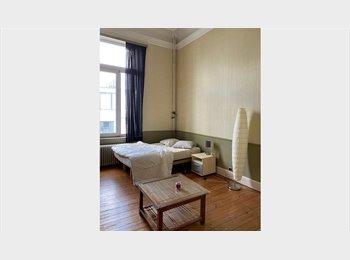 Appartager BE - Une grande chambre dans une belle maison de maître, Saint Gilles Sint Gillis - 550 € pm