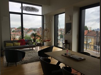 Appartager BE - Stylish Loft - Short term, Anderlecht - 490 € pm