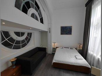Appartager BE - Belle chambre, très lumineuse, vue sur jardin., Ixelles-Elsene - 640 € pm