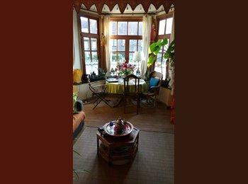 Appartager BE - Petit coin de paradis au milieu des cerisiers en fleurs, Watermael Boitsfort - Watermaal Bosvoorde - 500 € pm