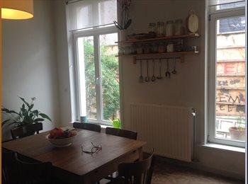 Appartager BE - Belle chambre dans un appartement claire tout pret du centre ville, Molenbeek Saint Jean - Sint Jans Molenbeek - 530 € pm