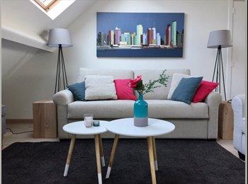 Appartager BE - Studio entièrement rénové et meublé, Bruxelles - 800 € pm