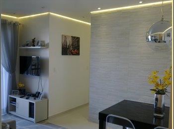 EasyQuarto BR - Alugo quarto em apto NOVO e super moderno!, Lapa - R$ 1.200 Por mês