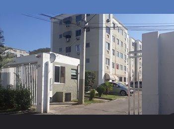 EasyQuarto BR - Quarto em Apartamento Mobiliado Próximo ao Metrô, Méier - R$ 400 Por mês