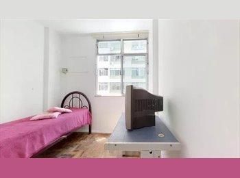 EasyQuarto BR - Aluguel de quartos no Leblon.  Sem regras malucas.!!!!, Leblon - R$ 1.200 Por mês