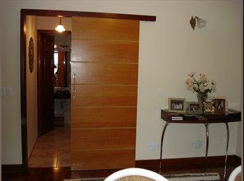 EasyQuarto BR - Alugo quarto em casa de família., Jundiaí - R$ 1.000 Por mês