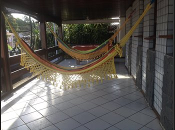 EasyQuarto BR - República ao lado do portão da UFRN. ônibus circular gratuíto., Natal - R$ 370 Por mês