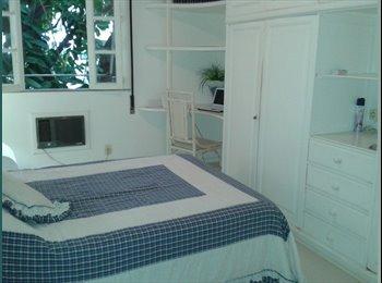 EasyQuarto BR - aluguel de quartos para rapazes de preferencia profissionais, Leblon - R$ 1.500 Por mês