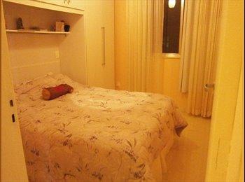 EasyQuarto BR - Alugo quarto com cama de casal, Lapa - R$ 1.200 Por mês