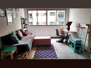 EasyQuarto BR - Quarto grande individual em apartamento de 90m2, Santa Cecilia - R$ 1.500 Por mês