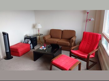 EasyRoommate CA - Summer sublet Condo for June & July at Merivale, Ottawa - $499 pcm