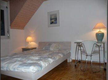 EasyWG CH - Chambre meublée avec salle de bain privative, Morges - 800 CHF / Mois