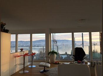 EasyWG CH - Great Lake view in a large modern apartment, Zug - 1250 CHF / Mois