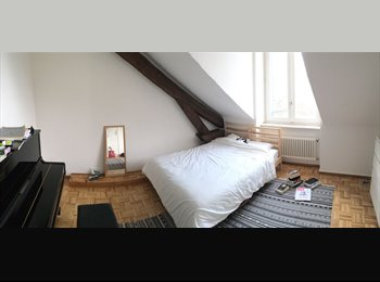 EasyWG CH - Room to Rent in spacious apartment  , Genève - 1 430 CHF / Mois