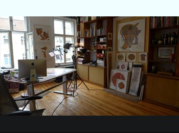 EasyWG DE - Atelier/ Zimmer zum Leben und Arbeiten in Schöneberg, Berlin - 630 € pm