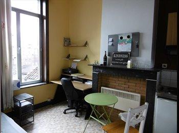EasyKot EK - zeer rustige kamer veel licht en ideale ligging, Gent-Gand - € 385 p.m.