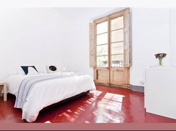 EasyPiso ES - Big sunny room in apartment with big Terrace next to Ramblas., Ciutat Vella - 500 € por mes