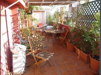 EasyPiso ES - Habitacion de matrimonio en Atico  con gran terraza, Ciudad Lineal - 495 € por mes