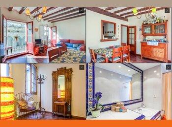 EasyPiso ES - Habitación doble en un piso ideal, Barcelona - 650 € por mes