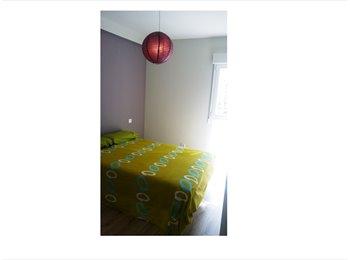 EasyPiso ES - habitación doble con baño en Madrid Rio, Centro Ciudad - 400 € por mes