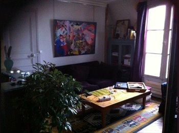 Appartager FR - le calme dans un petit immeuble ancien en plein centre de Paris - Canal St Martin, République., 11ème Arrondissement - 700 € /Mois