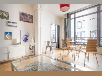 Appartager FR - Luminous, confortable and perfectly located flat, 2ème Arrondissement - 915 € /Mois