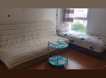 Appartager FR - Chambre en colocation dans F3 face Métro 12 Front Populaire, La Plaine-Saint-Denis - 480 € /Mois