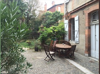 Appartager FR - Colocation avec jardin à Saint Sernin, Toulouse - 600 € /Mois