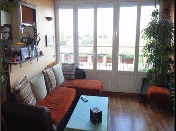Appartager FR - 3 pers(85m2 duplex) apartment close Paris to share, Aubervilliers - 550 € /Mois