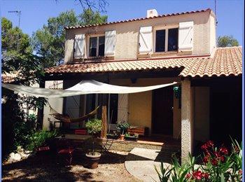Appartager FR - Colocation - Chambre agréable et lumineuse dans maison à 2 pas de Montpellier Centre, Clapiers - 480 € /Mois