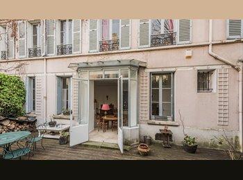 Appartager FR -  De passage sur Paris Belle Chambre terrasse  , Aubervilliers - 625 € /Mois