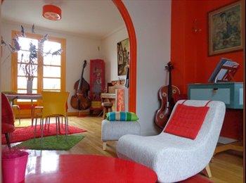 Appartager FR - Chambre à louer à Tours centre dans maison spacieuse et gaie, Saint-Pierre-des-Corps - 330 € /Mois