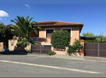 Appartager FR - Collocation dans une grande maison située sur les côteausx de Ramonville, Ramonville-Saint-Agne - 400 € /Mois