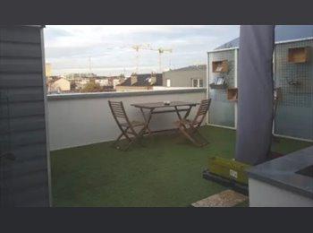 Appartager FR - Appartement de luxe 120 m² haut standing [2 chambres disponibles à partir de fin-Mai 2017], La Plaine-Saint-Denis - 540 € /Mois