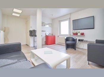 Appartager FR - 2 chambres disponibles maison entiérement meublée sdb individuelle, Loos - 450 € /Mois