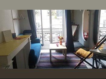 Appartager FR - Chambre meublée 20m2 libre début mai métro République, 10ème Arrondissement - 660 € /Mois