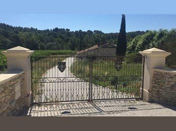 Appartager FR - COLOCATION MAISON Proche Cadarache-Pertuis-Aix , Aix-en-Provence - 350 € /Mois