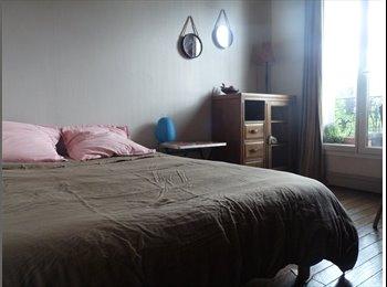Appartager FR - chambre  cosy, à 2 pas du 18 e, proche montmartre, La Plaine-Saint-Denis - 450 € /Mois