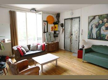 Appartager FR - chambre à louer dans appart.120 m2, 2ème Arrondissement - 750 € /Mois