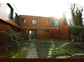 Appartager FR - Chambre indép. dans rdc (indép., 45m2) d'une maison d'architecte avec jardin, Bagnolet - 650 € /Mois
