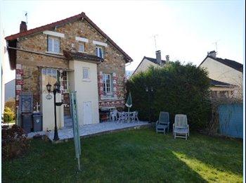 Appartager FR - Colocation Sympa - Jeunes actifs - Maison avec Jardin, Argenteuil - 600 € /Mois