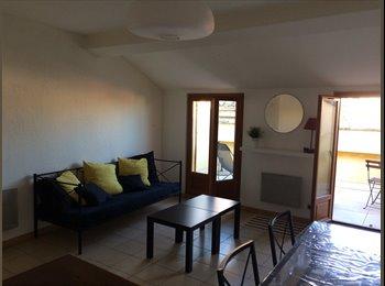 Appartager FR - Duplex de 60 m2 avec terrasse intra muros , Avignon - 400 € /Mois