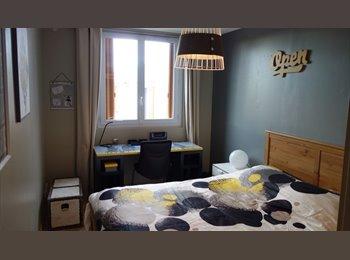 Appartager FR - Chambre à louer Cergy Pontoise près de Osny dispo 1 juillet dans colocation meublée super équipée, Pontoise - 450 € /Mois