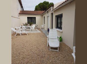 Appartager FR - 2 chambres dans colocation , Puilboreau - 380 € /Mois