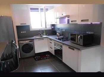 Appartager FR - A louer chambres meublées dans grand appartement., Bondy - 490 € /Mois