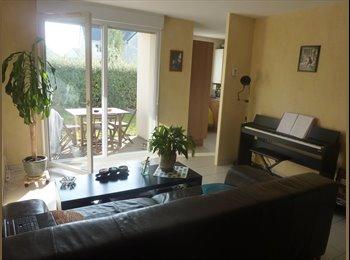Appartager FR - Chambre dans appart avec jardin, Sainte-Luce-sur-Loire - 350 € /Mois