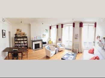 Appartager FR - Chambre meublée dans belle maison à 5 min Lille Europe et Flandre, Mons-en-Barœul - 450 € /Mois